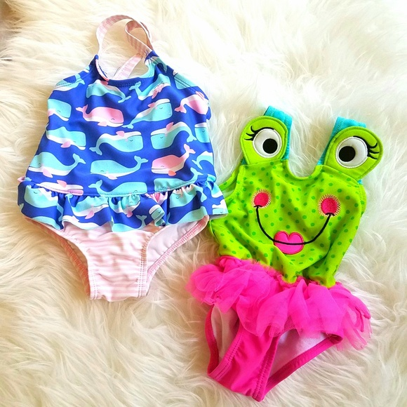 Carter's Other - Carter's Baby Girl Swimsuits 12 Months